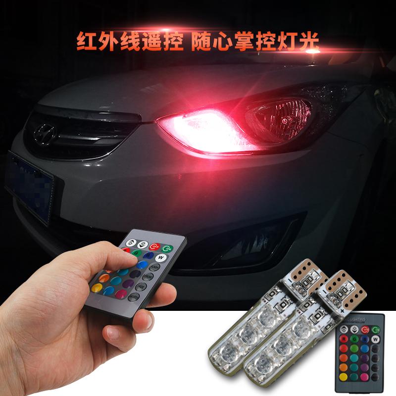 Преставиться ultrabright led строб автомобиль автомобиль иностранных свет светодиодные лампы ремонт красочный многофункциональный общий привод лампочка