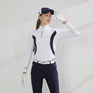 子球衣修身 golf运动衣 球衣服装 裤 女上衣长袖 女装 BG高尔夫女装 套装