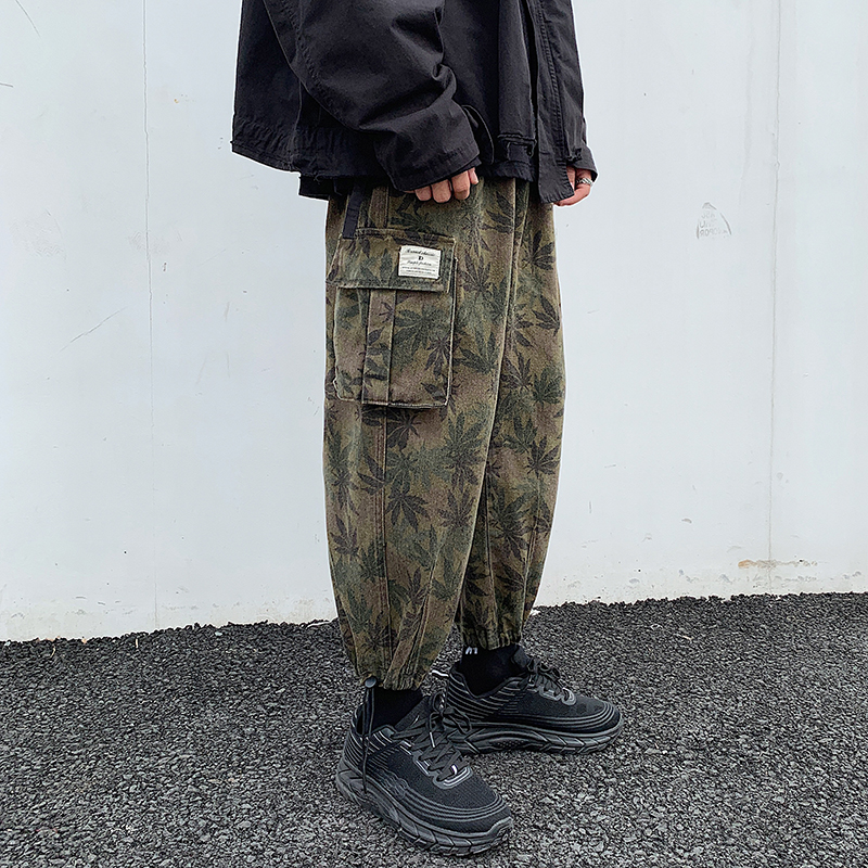 Ren May 6th 19 autumn new camouflage overalls for men