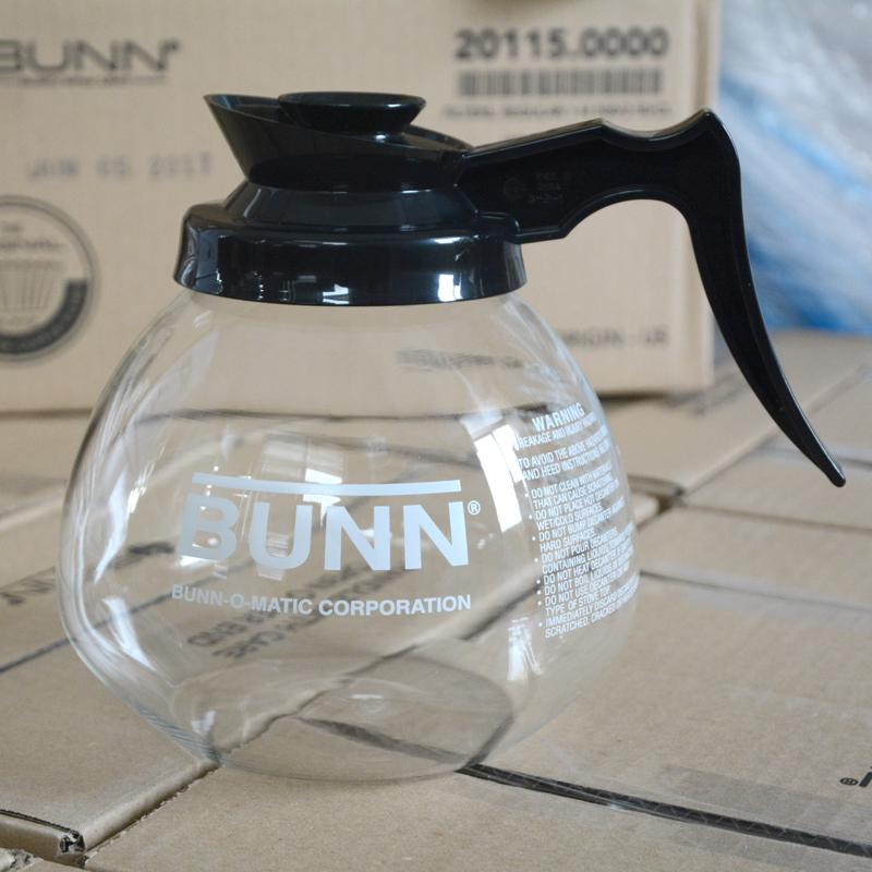 美国BUNN美式机用耐热玻璃壶 咖啡壶 滴漏式咖啡机耐热壶1.8L含盖满80.00元可用1元优惠券