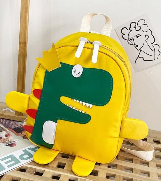 帆布小包包女2020新款儿童斜挎包搞怪卡通可爱恐龙单肩包零钱包潮图片