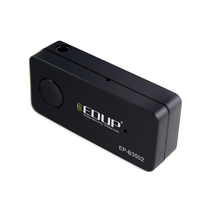 EDUP EP-B3502 直插式车载蓝牙音频接收器 AUX接口立体音乐接收器