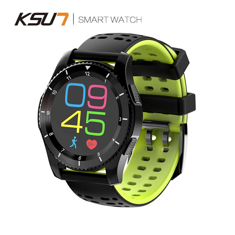 KSUN步讯手表智能R707多功能监控检测血压血氧睡眠时间原装官方正品黑科技适用苹果荣耀华为小米男女运动手环