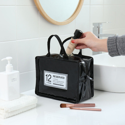 ins net red cosmetic bag counter travel simple cosmetic storage bag wash bag large capacity bath cosmetic bag