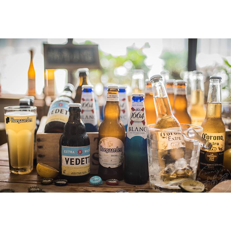 「24瓶装」 畅饮啤酒 科罗娜/克伦堡1664/福佳白/白熊等 精酿啤酒