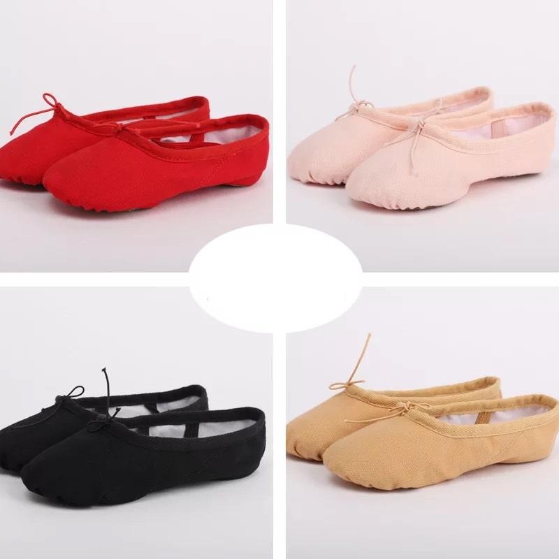 舞蹈鞋形体软底芭蕾跳舞鞋猫爪练功免系带中国古典民族室内女幼童