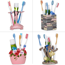 Creative products, toothware box, tooth brushing, face washing, toothbrush, toothpaste box, lovely toilet shelf, ceramics