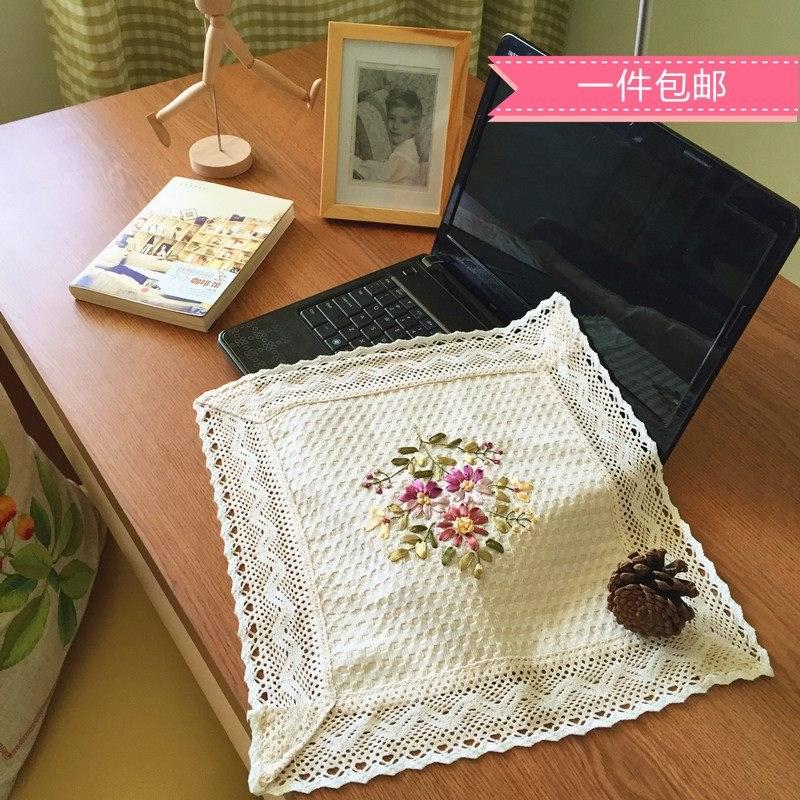 防灰尘布盖布小笔记本电脑防尘罩 茶具盖布防尘布 电饭煲防尘罩