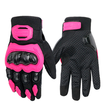 Anti-slip anti-collision wear-resistant touch screen motorcycle riding gloves racer men and women Four Seasons