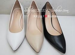 LE SAUNDA/莱尔斯丹~2018春款尖头鞋高跟鞋女鞋国内代购9M54410