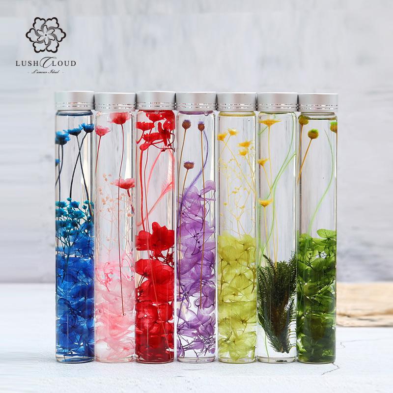 进口浮游花液态永生花玻璃瓶摆件正品保证