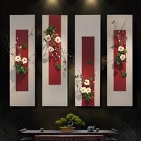 创意立体客厅电视背景墙面装饰挂件新中式壁饰挂墙上墙壁装饰挂饰