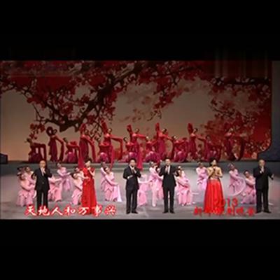 张建峰 丁晓君 迎春曲 2013年戏曲晚会 京歌 高品质伴奏