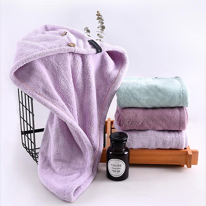 限时2件3折干发帽速干浴帽女长发懒人洗头擦头巾包头发的毛浴巾比纯棉超吸水