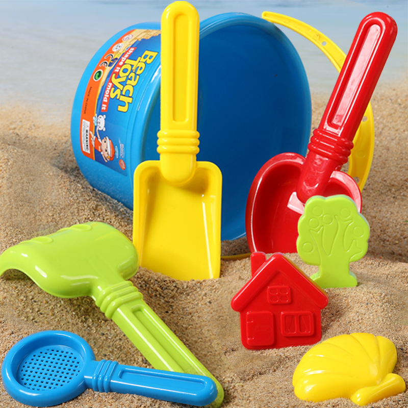 Childrens sand digging tools beach toys shovel and bucket childrens suit sand pool outdoor digging baby boys and girls bag