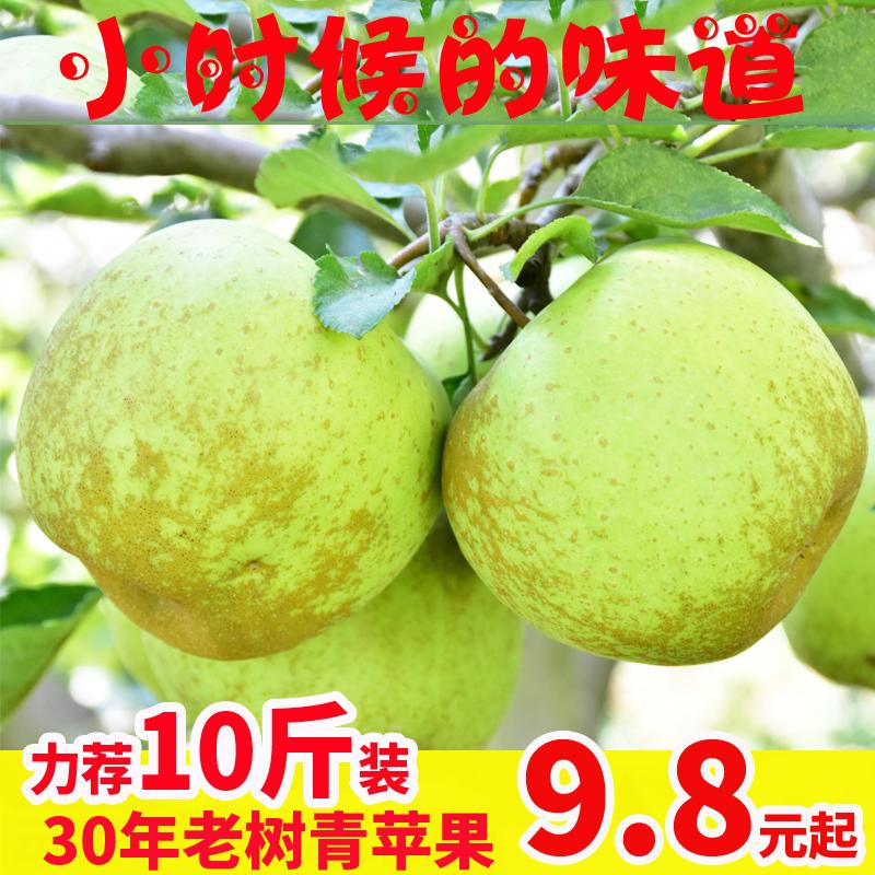 云南新鲜10斤整箱包邮应当季青苹果