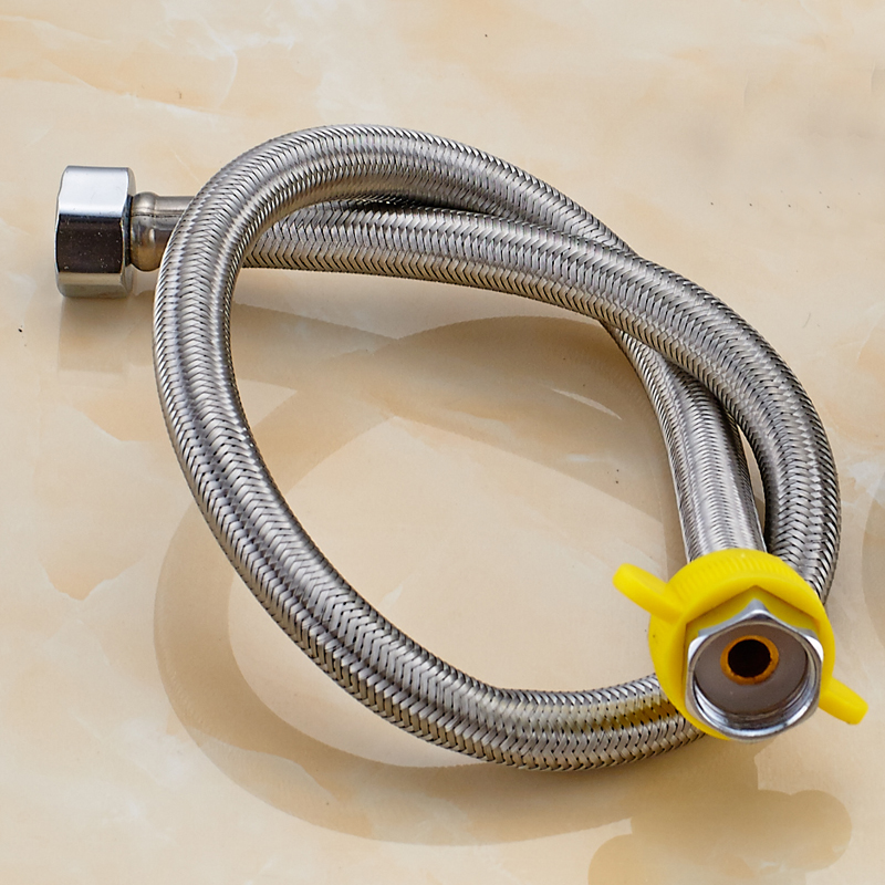 給水軟管4分水龍頭冷熱水接管燃氣電熱水器連接管子水管水箱配件