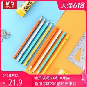 晨光文具铅笔幼儿园小学生三角笔杆