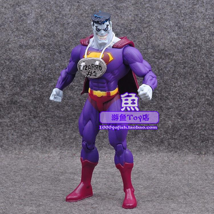 Hot selling justice alliance new 52 monster Superman Bizarro bizaro 7 inch movable Doll Toy