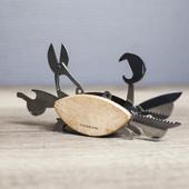 美国Kikkerland 小鸟六合一多功能工具/螃蟹九合一多功能工具