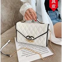 新款潮小众设计网红时尚秋冬百搭斜挎包2020女士包包ck香港代购小
