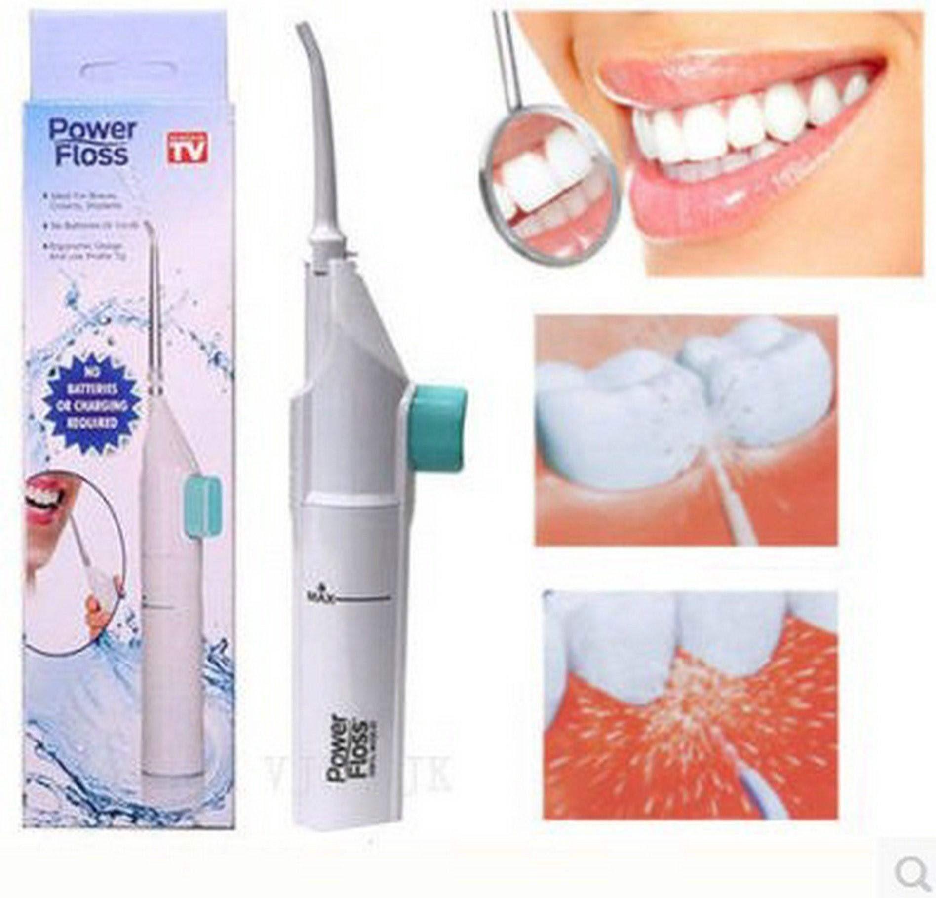 Power Floss冲牙器便携式洁牙器洗牙器口腔牙线冲洗清洁牙齿水
