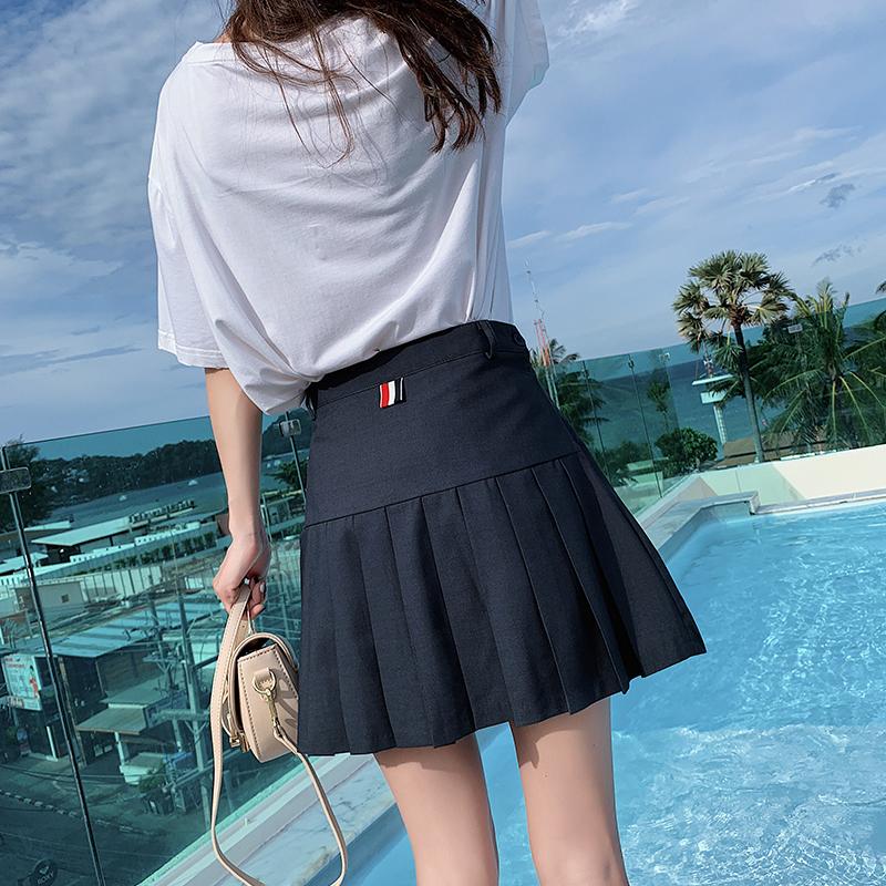 79.00元包邮chic春秋2019新款高腰ins半身裙子