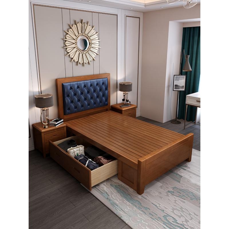 五星级酒店床架简易快捷酒店公寓青旅家具标间全套北欧卧室全套组