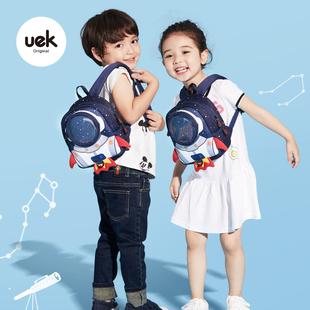 uek防走失背包宝宝男女婴儿小书包1 6岁幼儿园轻可爱儿童双肩包