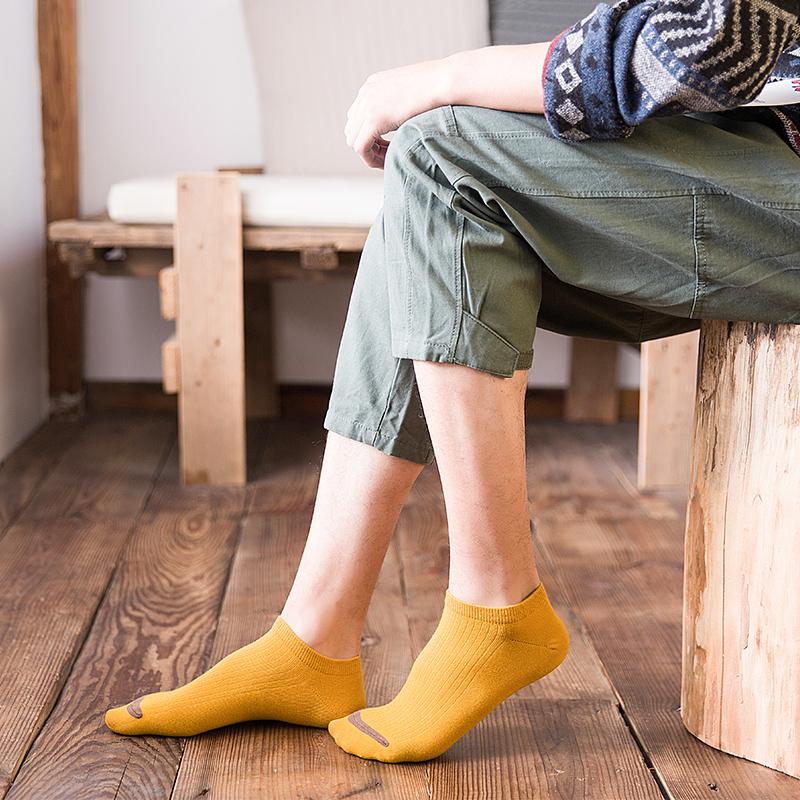 袜子男士短袜船袜男夏季短筒防臭薄款浅口吸汗低帮隐形夏天男袜潮