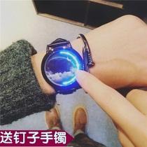 个姓手表男潮创意炫酷黑科技概念高科技无指针学生国产腕表机械表