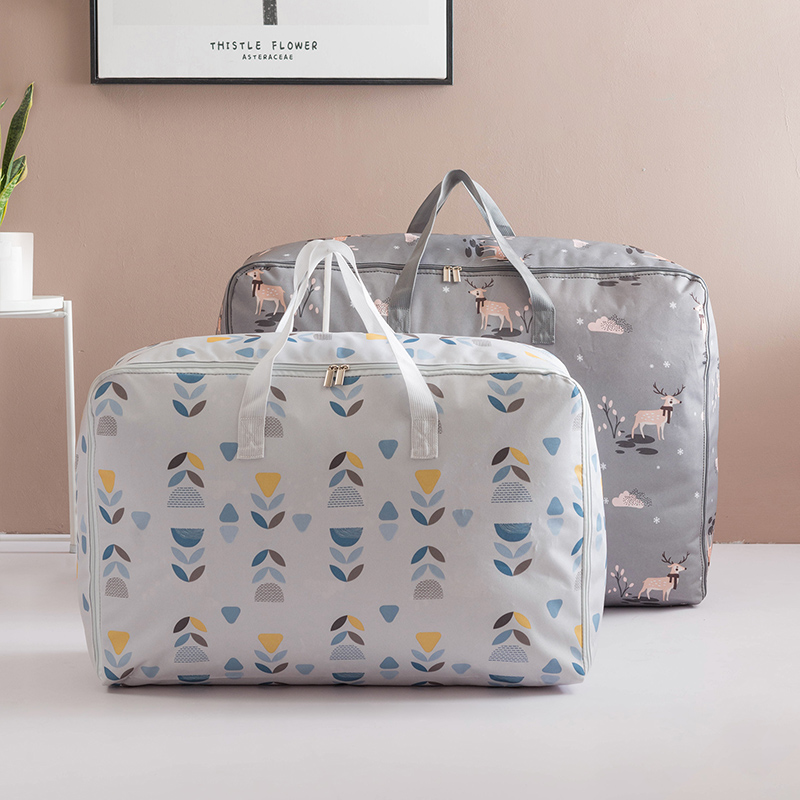 TK exclusive storage bag moving and finishing clothes packing luggage Jumbo moisture proof super large capacity bag HB
