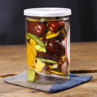零食果蔬脆片 冻干蔬菜干蔬果干果蔬干脱水混合装 水果干100g罐装