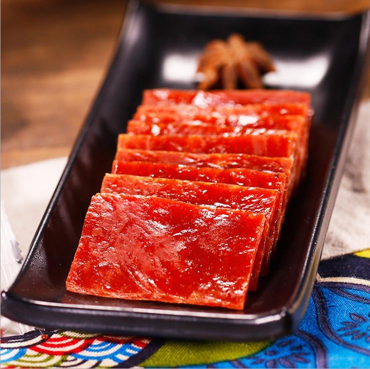 益可利猪肉脯250g散装猪肉干猪肉片靖江特产小吃休闲零食来一份