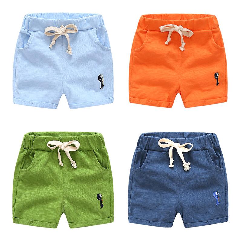 宝宝运动短裤 2018夏装韩版新款男童童装儿童五分裤子kz-b023
