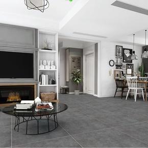 灰色仿古瓷砖800x800客厅地砖厨卫墙砖600x600哑光防滑水泥地板砖