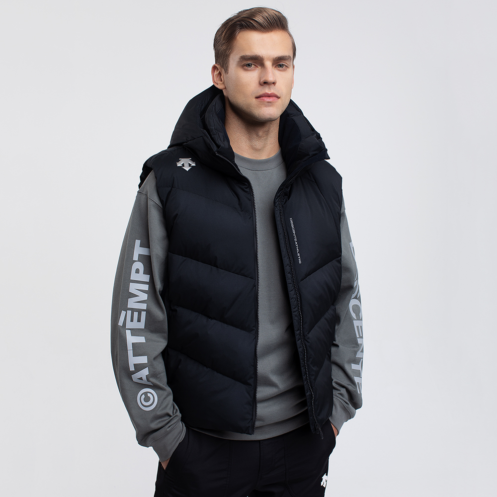 Descente training new winter men's hooded down jacket d9431tdv57