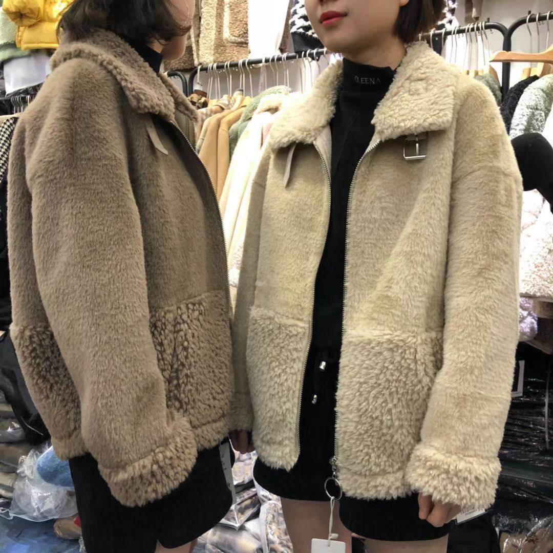【初冬款大上新】2019初冬款精品羊驼绒外套 SH2F155-WQL97170