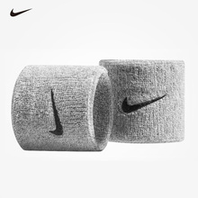Nike Summer Fashion Thin Breathing Sports Fitness Bracers Men's Basketball Sprain Sweat Absorbing Wrist Ribbon Female Tide