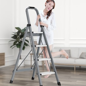 奥鹏铝合金梯子家用折叠加厚人字梯