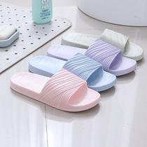 拖鞋女夏季新款居家室内男女情侣拖鞋男铡室洗澡防滑家居卡通托鞋