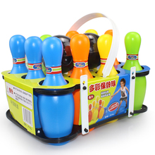Children's Bowling Toy Set Children's Ball Toys Indoor Large Outdoor Parent-Child Sports Toys Boys and Girls