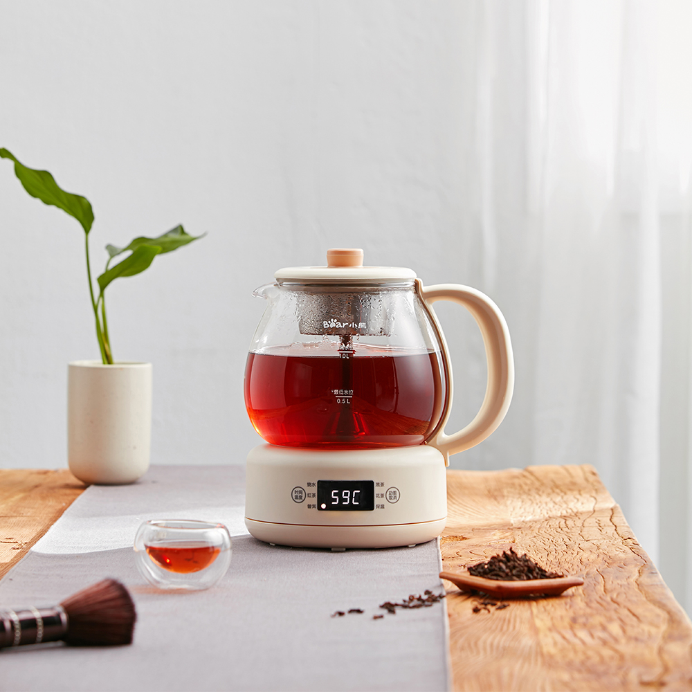Bear/小熊 ZCQ-A10W5茶器煮茶壶黑茶普洱蒸茶器家用全自动养生壶