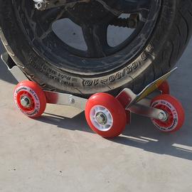 瘪胎助推器电动车爆胎应急自救工具电瓶车拖车器助力拖车图片