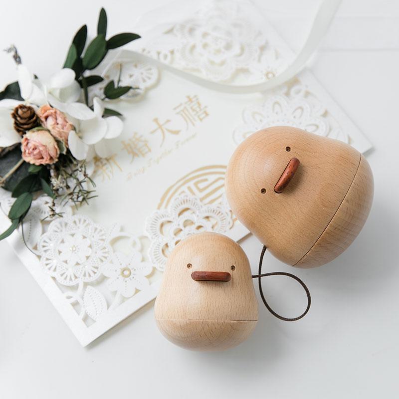 树德爱你鸭结婚礼物送新人实用闺蜜老婆情侣纪念日创意桌面摆件