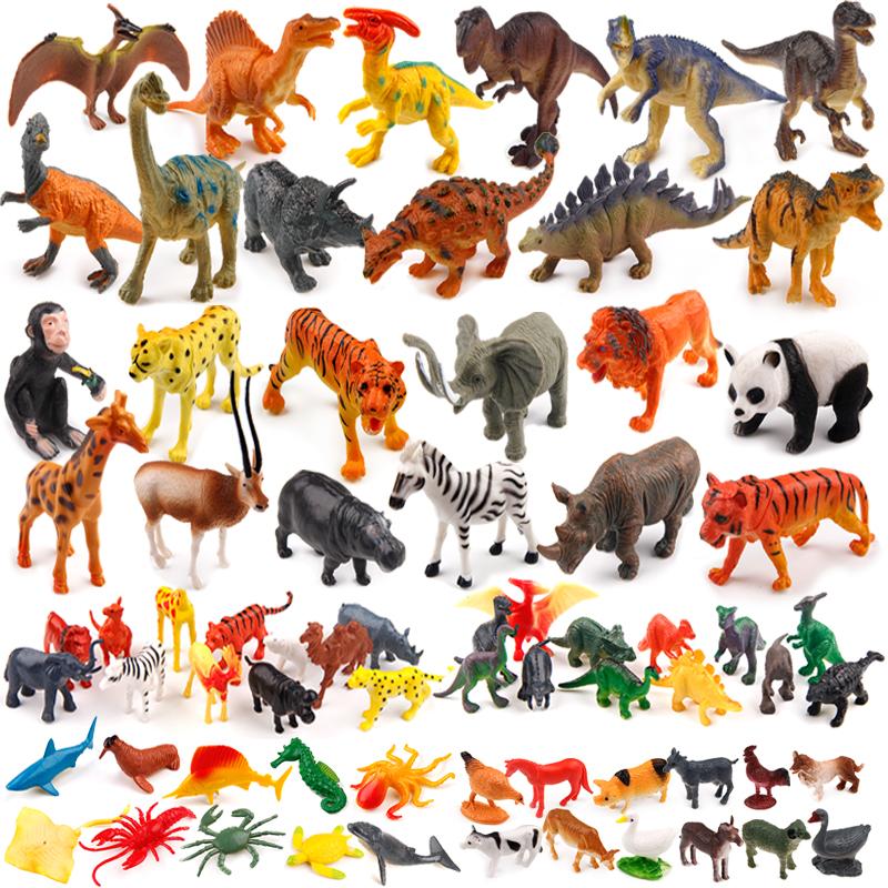 侏罗纪大恐龙玩具儿童塑胶模型玩具