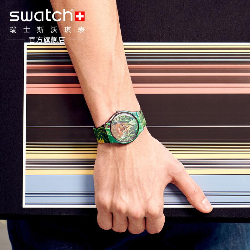 swatch瑞士moma合作款星空防水表好不好