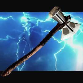 复仇者联盟3无限战争雷神新锤子风暴之锤暴风战斧武器模型道具
