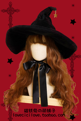 Custom made hat and tie for witch Lolita