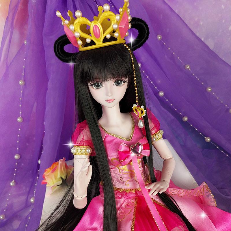 11月27日最新优惠叶罗丽正品礼服娃娃衣服仿真公主裙